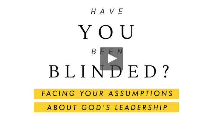 Have You Been Blinded? Video Course