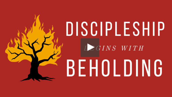 Discipleship Begins with Beholding Video Course